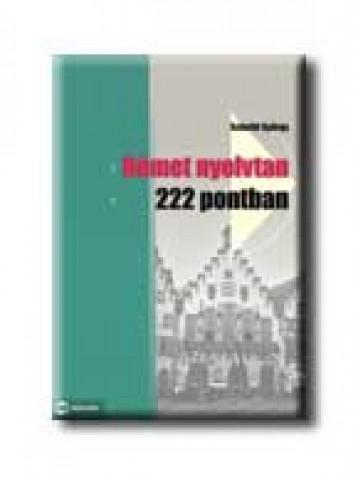 NÉMET NYELVTAN 222 PONTBAN - Ekönyv - SCHEIBL GYÖRGY
