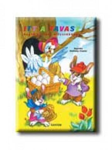 ITT A TAVASZ - FOGLALKOZTATÓ KIFESTŐKÖNYV - - Ekönyv - SANTOS KIADÓ