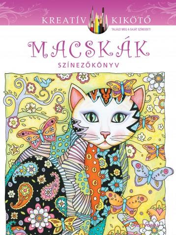 MACSKÁK - SZÍNEZŐKÖNYV - Ekönyv - PARTVONAL KIADÓ
