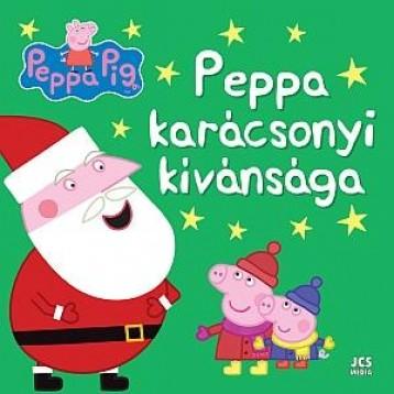 PEPPA PIG - PEPPA KARÁCSONYI KÍVÁNSÁGA - Ekönyv - JCS MÉDIA KFT