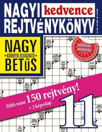NAGYI KEDVENCE REJTVÉNYKÖNYV 11. - Ekönyv - CSOSCH BT.