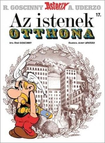 AZ ISTENEK OTTHONA - ÚJ BORÍTÓ! (ASTERIX 17.) - Ekönyv - GOSCINNY, RENÉ