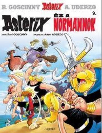 ASTERIX ÉS A NORMANNOK - ASTERIX 9. (ÚJ BORÍTÓ) - Ekönyv - GOSCINNY, RENÉ
