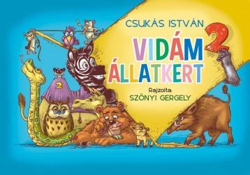 VIDÁM ÁLLATKERT 2. - Ekönyv - CSUKÁS ISTVÁN
