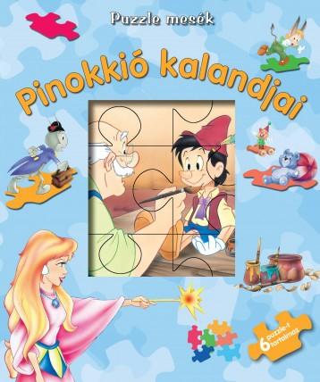 PINOKKIÓ KALANDJAI - PUZZLE MESÉK - Ekönyv - TÓTHÁGAS KIADÓ