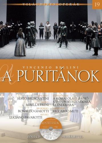 A PURITÁNOK - VILÁGHÍRES OPERÁK 19. - CD-VEL - Ekönyv - BELLINI, VINCENZO