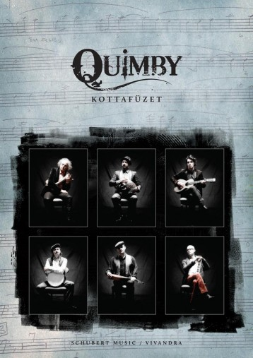 QUIMBY - KOTTAFÜZET - Ekönyv - QUIMBY ZENEKAR