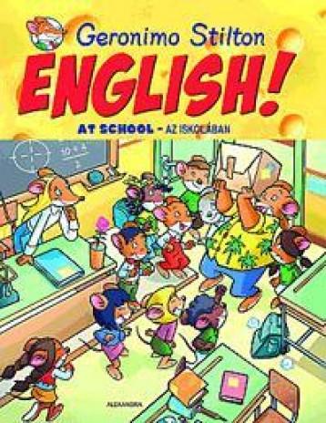ENGLISH! AT SCHOOL - AZ ISKOLÁBAN - Ekönyv - STILTON, GERONIMO