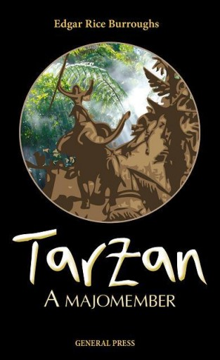 TARZAN, A MAJOMEMBER - - Ekönyv - BURROUGHS, EDGAR RICE