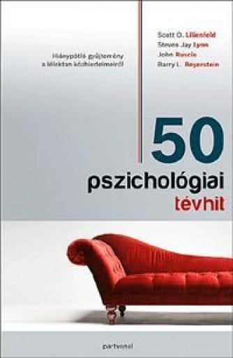 50 PSZICHOLÓGIAI TÉVHIT - Ekönyv - PARTVONAL KIADÓ