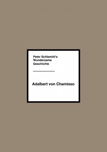 PETER SCHLEMIHL\'S WUNDERSAME GESCHICHTE - Ekönyv - Adelbert von Chamisso