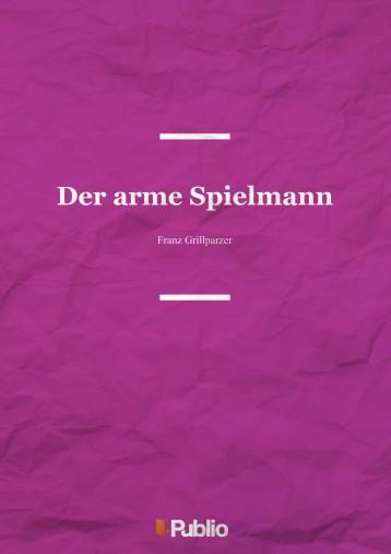 Der arme Spielmann - Ebook - Franz Grillparzer