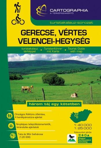 GERECSE, VÉRTES, VELENCEI-HEGYSÉG - TURISTAKALAUZ - Ekönyv - CARTOGRAPHIA KFT.