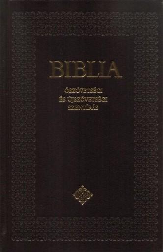BIBLIA - ÓSZÖVETSÉGI ÉS ÚJSZÖVETSÉGI SZENTIRÁS - KÖZEPES, KÖTÖTT - - Ebook - SZENT ISTVÁN TÁRSULAT