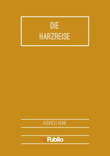 Die Harzreise - Ekönyv - Heinrich Heine