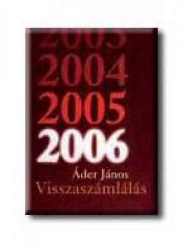 VISSZASZÁMLÁLÁS - Ekönyv - ÁDER JÁNOS