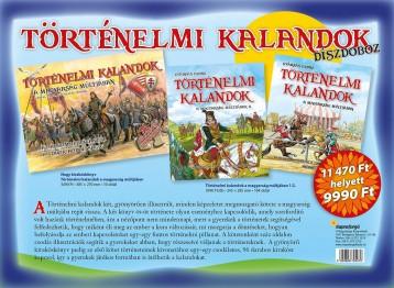 Történelmi kalandok a magyarság múltjában Történelmi kalandok a magyarság múltjában - DÍSZDOBOZ - Ekönyv - GYÁRFÁS ENDRE