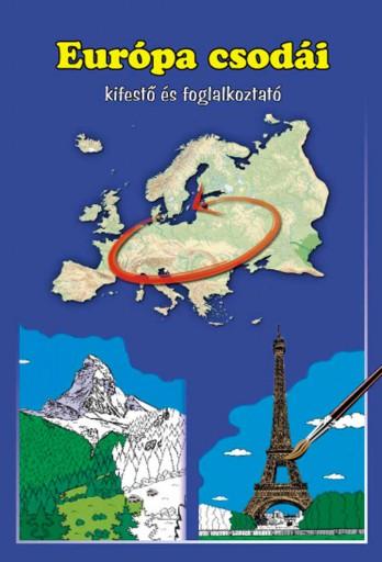 EURÓPA CSODÁI - KIFESTŐ ÉS FOGLALKOZTATÓ - Ekönyv - MANÓ KÖNYVEK