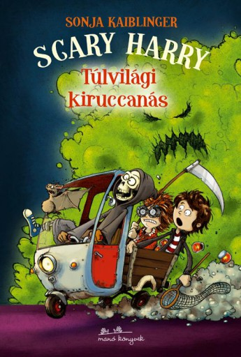SCARY HARRY - TÚLVILÁGI KIRUCCANÁS - Ebook - KAIBLINGER, SONJA