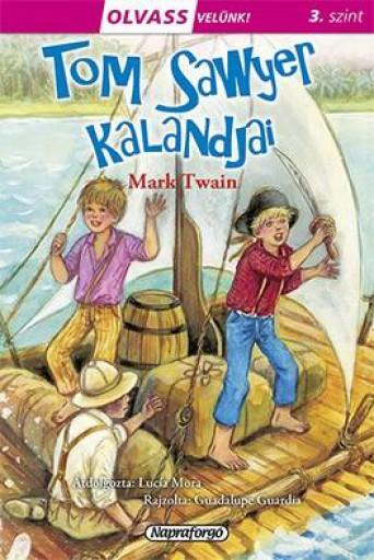 Tom Sawyer kalandjai - Olvass velünk! (3) - Ekönyv - Napraforgó Kiadó