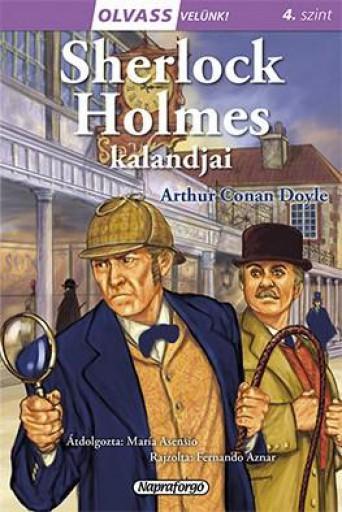 Sherlock Holmes kalandjai - Olvass velünk! (4) - Ekönyv - Napraforgó Kiadó