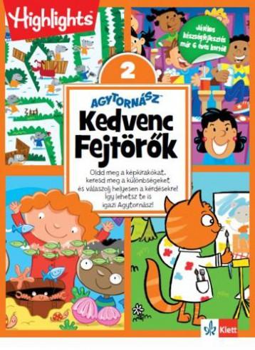 AGYTORNÁSZ - KEDVENC FEJTÖRŐK 2. - Ekönyv - KLETT KIADÓ