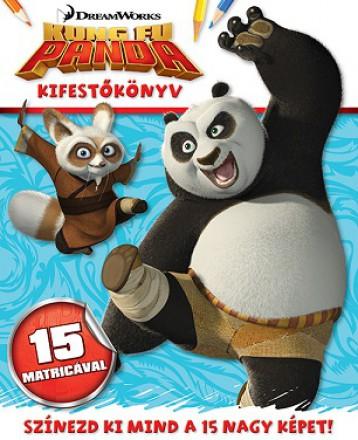 Kung Fu Panda - kifestőkönyv matricákkal - Ebook - NAPRAFORGÓ KÖNYVKIADÓ