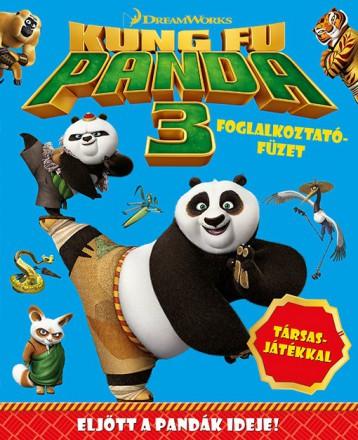 Kung Fu Panda - 3. foglalkoztatófüzet - Ekönyv - NAPRAFORGÓ KÖNYVKIADÓ