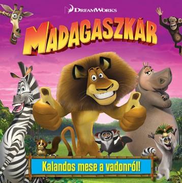 Madagaszkár - mesekönyv - Ekönyv - NAPRAFORGÓ KÖNYVKIADÓ