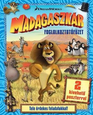 Madagaszkár - foglalkoztatófüzet - Ekönyv - NAPRAFORGÓ KÖNYVKIADÓ