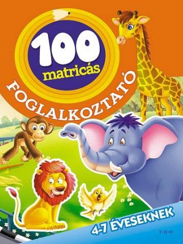 AZ ÁLLATKERTBEN - 100 MATRICÁS FOGLALKOZTATÓ - Ekönyv - TÓTH KÖNYVKERESKEDÉS ÉS KIADÓ KFT.