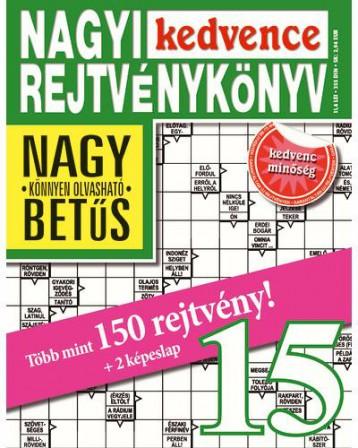 NAGYI KEDVENCE REJTVÉNYKÖNYV 15. - Ekönyv - CSOSCH BT.