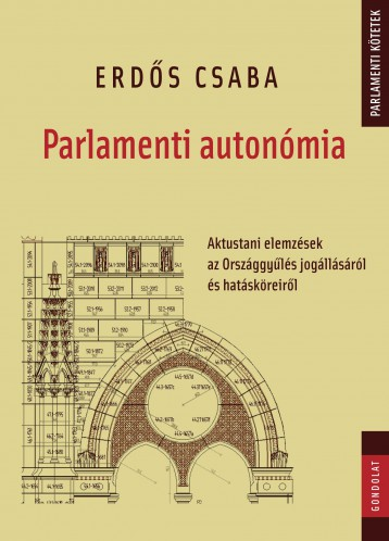 PARLAMENTI AUTONÓMIA - Ebook - ERDŐS CSABA