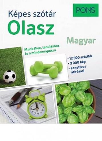 KÉPES SZÓTÁR - OLASZ-MAGYAR (PONS) - Ekönyv - KLETT KIADÓ