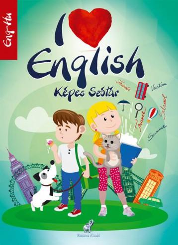 I LOVE ENGLISH - KÉPES SZÓTÁR - Ekönyv - ROLAND TOYS KFT.