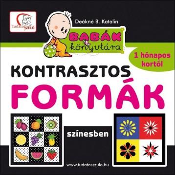 KONTRASZTOS FORMÁK SZÍNESBEN - Ekönyv - DEÁKNÉ B. KATALIN