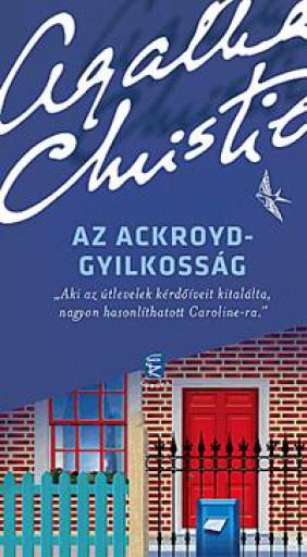 AZ ACKROYD-GYILKOSSÁG (ÚJ!) - Ekönyv - CHRISTIE, AGATHA