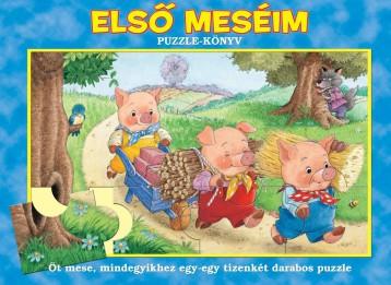 ELSŐ MESÉIM - PUZZLE-KÖNYV - - Ekönyv - MANÓ KÖNYVEK