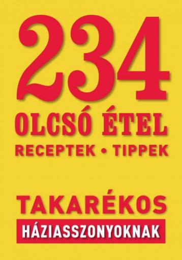 234 OLCSÓ ÉTEL - Ebook -