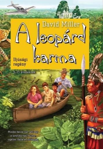 A LEOPÁRD KARMA - Ekönyv - MILLER, DAVID