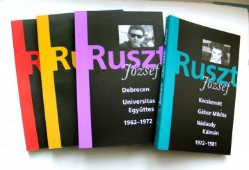 RUSZT JÓZSEF - DEBRECEN, UNIVERSITAS EGYÜTTES 1962-1972 - Ekönyv - RÁDAY KÖNYVESHÁZ KFT.