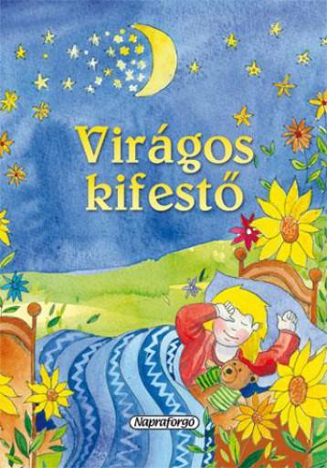 Virágos kifestő - Ekönyv - NAPRAFORGÓ KÖNYVKIADÓ