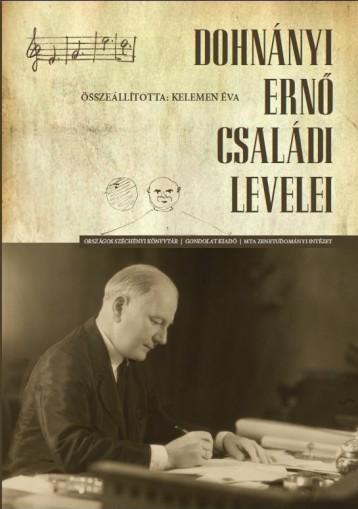 DOHNÁNYI ERNŐ CSALÁDI LEVELEI - CD MELLÉKLETTEL - Ekönyv - GONDOLAT KIADÓ