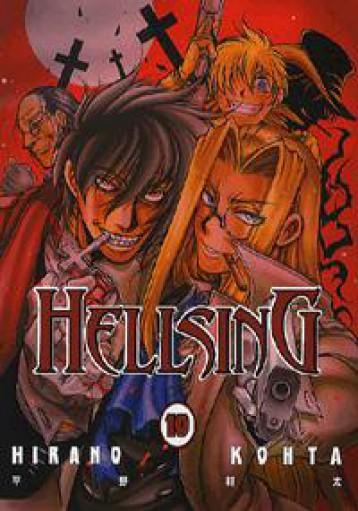 HELLSING 10. - Ekönyv - HIRANO KOHTA