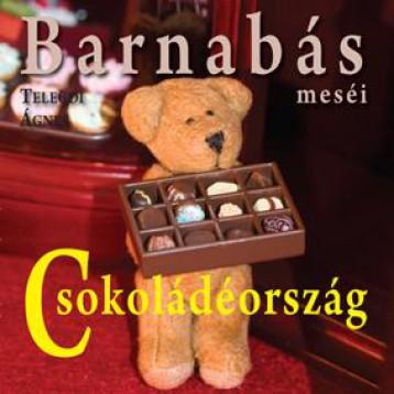 BARNABÁS MESÉI - CSOKOLÁDÉORSZÁG - - Ekönyv - TELEGDI ÁGNES
