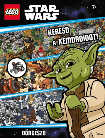 LEGO STAR WARS - KERESD A KÉMDROIDOT! - BÖNGÉSZŐ AJÁNDÉK MINIFIGURÁVAL - Ekönyv - KOLIBRI GYEREKKÖNYVKIADÓ KFT.