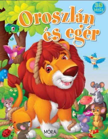 OROSZLÁN ÉS EGÉR - 3D-S MESE - Ekönyv - MÓRA KÖNYVKIADÓ