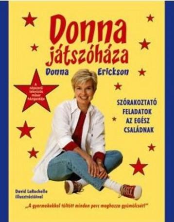 Donna játszóháza - Ekönyv - Donna Erickson