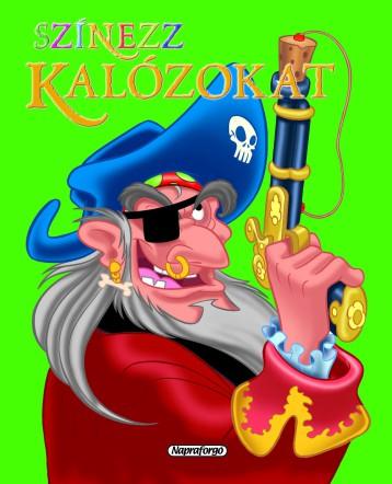Színezz kalózokat! - Zöld - Ekönyv - Napraforgó Kiadó