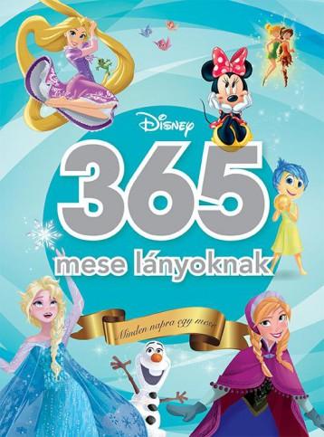 365 MESE LÁNYOKNAK - MINDEN NAPRA EGY MESE (DISNEY) - Ekönyv - KOLIBRI GYEREKKÖNYVKIADÓ KFT.